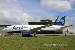 A320-251.NEO VQ-BXK (PR-YYE) AZUL (shanairpic) Tags: jetairliner passengerjet a320 airbusa320 shannon iac eirtech avianca gecas azul probl vqbxk pryye