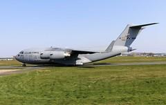C17  33125 (TF102A) Tags: prestwick prestwickairport aviation aircraft airplane usaf usairforce c17 33125
