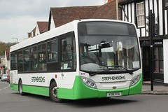 Today's offering on Route 301 - Friday 12th-April-2019 . (AndrewHA's) Tags: hertfordshire bishopsstortford bus stephensons rayleigh essex alexander dennis dart adl enviro 200 445 yx10ffa route 301 saffron walden second hand abellio london 8540