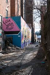 Love Ya! (pasa47) Tags: 2019 march fujifilm fujixe1 1855mm spring cincinnati ohio oh pendleton alley graffitialley bolivaralley