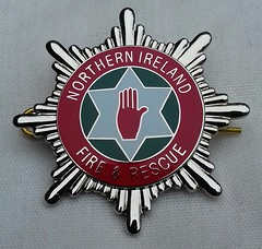 Northern Ireland Fire and Rescue Service Cap Badge 2006-On (Lesopc) Tags: nifrs northern ireland fire rescue service brigade cap badge logo 2006 2007 2008 2009 2010 2011 2012 2013 2014 2015 2016 2017 2018 2019 uk