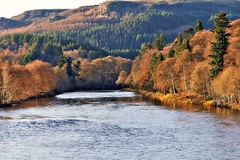 Winter Colours on the river Tay (eric robb niven) Tags: ericrobbniven scotland dunkeld perthshire rivertay landscape cycling springwatch