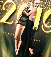 Happy New Year ([ô] jon austrone) Tags: besomhair jl janalittle gemini arisaris tableauvivant cubiccherry karlaboutique cae sexyprincess nx nardcotix