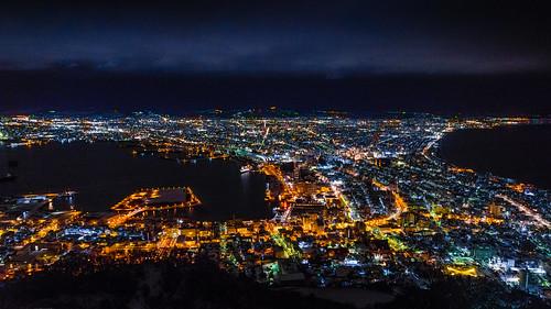 hakodate night view / 函館山百萬夜景