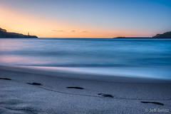 Seeking Sea_renity (Jeff Bentz Photography) Tags: ethereal calm serenity sunrise beach kalapaki hawaii kauai sand footsteps