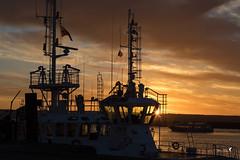 Brest port... (Patrice Le Roux) Tags: sunsetsunrise finistère bzh brest bretagne port bateau mer