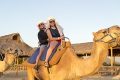 Camel Ranch in Mexico (aaronrhawkins) Tags: camel ride loscabos mexico pacific ocean girls two ranch vacation sunset jessica kellie saddle aaronhawkins