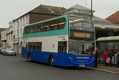 Southdown PSV YN66 WUC Bognor Regis 12/1/19 (jmupton2000) Tags: yn66wuc alexander dennis enviro 400 trident southdown psv copthorne sussex rail railway replacement bus