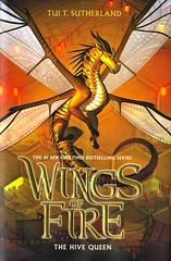 The Hive Queen (Vernon Barford School Library) Tags: tuitsutherland tui t sutherland fantasy fantasyfiction fiction dragon dragons adventure goodandevil magic vernon barford library libraries new recent book books read reading reads junior high middle school nonfiction hardcover hard cover hardcovers covers bookcover bookcovers 9781338214482