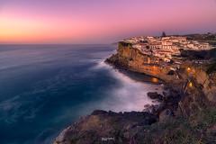 Azenhas do Mar (Fernando Guerra Velasco) Tags: azenhasdomar portugal sunset atardecer longexpo atlantico costa puesta de sol