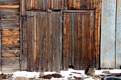 Barn Door (lars hammar) Tags: victor colorado wod barn door winter snow abandoned