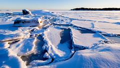 Villinki, East-Helsinki, Finland. (Esa Suomaa) Tags: helsinki finland suomi winter ice sea snow landscape olympusomd scandinavia europe