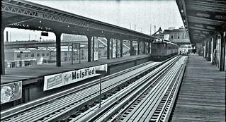 Ninth Avenue El, Manhattan, at 155th Street, June 3-5, 1940