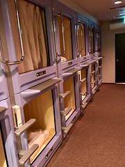 Capsule Hotel in Sapporo (Jauss) Tags: 札幌市 北海道 capsulehotel japan japon hokkaïdō sapporo 日本 hokkaidō