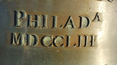 1753 (Mamluke) Tags: 1753 bronze bell libertybell philadelphia metal number numbers roman romannumerals mamluke mdccliii decay year 1750s numeral nombre zahl ziffer número aantal metallo metall métal cast city name jahr anno año année jaar date 青銅 brons bronce bronzo