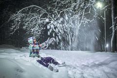 Алиса кидается снегом в парке / Alice throws snow in the park 2019 (jose6210) Tags: снег снежно снежок снегопад веселье snowy snow fun winter зима зима2019 bosco forest park trees tree