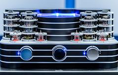 Sound Machine (*Capture the Moment*) Tags: 2016 amplifier bokeh details highend lenbachhaus music musik nahaufnahmen playbackroom röhren röhrenverstärker sony sonya7ii sonysel90m28g tube tubeamplifier verstärker westend