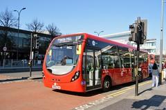 WV46223 SM68ESN (PD3.) Tags: white city shepherds bush westfield london shops shopping centre bus buses station england uk wright streetlite tower transit wv46223 wv 46223 sm68esn sm68 esn