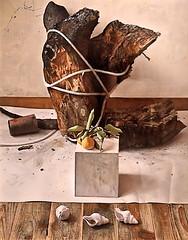 IMG_6186J Osamu Obi  A portrait of Weathering 2014 Barcelone Musée Européen d'Art Moderne.(MEAM) Exposition temporaire sur le réalisme japonais contemporain (Hoki Museum) (jean louis mazieres) Tags: peintres peintures painting musée museum museo espagne spain espana barcelone barcelona museueuropeudartmodern meam