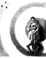 Target (Sergei U. Rukavishnikov) Tags: surrealism surreal art drawing colored pencil gelinkpen paper acrylics