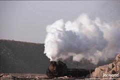 2019/2/6 JS8197 Sandaoling (Pocahontas®) Tags: js8197 steam engine locomotive railway railroad train film135 kodakektar100 china sandaoling
