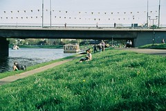 000053 (dominika.pancerz) Tags: 35mm analog analogue film canoneos1000 canon city spring sunny krakow wisla kodak kodak200
