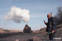 2019/2/7 JS8190 Sandaoling (Pocahontas®) Tags: js8190 steam engine locomotive rail train station coalmine sandaoling xinjiang china film 35mmfilm kodak ektar100