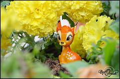 Bambi ~03 (Orphen 5) Tags: disney bambi disneybambi disneybambifigurine bambifigurine flower bambiphotoclip bambifigurineprimark bambiprimark primark london tumblr cute