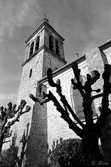 Eglise St-Martin de Dammartin-en-Serve (Philippe_28) Tags: dammartinenserve 78 yvelines iledefrance europe france église church analogue argentique camera photography film 135