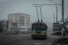 Ikarus 5219 trolleybus STB Bucharest (WT_fan06) Tags: ikarus 415t trolleybus stb bucharest cityscape electric urban street photography nikon d3400 dslr flickr oldtimer retro vintage nikkor 7dwf coth5 january 2019 5219