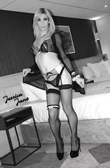 Sheer Delight (jessicajane9) Tags: tg crossdresser tranny cd trans xdress tv m2f travesti feminization transgender crossdress transvestite feminised lingerie stockings tgirl femme crossdressing