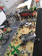 Lego Military Diorama Chieti Model Touring 2018 (14) (Parm Brick) Tags: lego afol bricks chieti model touring 2018 military army tanks vehicle aircraft weapons custom