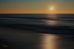 Andante (Monika Müthing) Tags: sun sundown sunset gold blue yellow orange water sea ocean sky