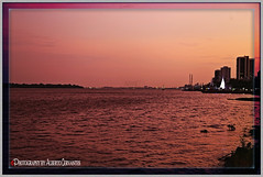 ME GUSTA GUAYAQUIL POR SU ATARDECER. I LIKE GUAYAQUIL FOR ITS DUSK. GUAYAQUIL  ECUADOR. (ALBERTO CERVANTES PHOTOGRAPHY) Tags: dusk sunset twilight nightfall crepusculo ocaso atardecer anochecer colorlight colornight republicadelecuador guayaquil ecuador ecuadorguayaquil guayaquilecuador gye ecuadorgye gyeecuador rioguayas guayas rio river sea lake ocean retrato portrait streetphotography photography photoborder photoart art indoor outdoor blur water barco boat building pink ship yacht perladelpacifico pearlofpacific luz light color colores colors brightcolors brillo bright reflejo reflection sky clouds city sol sun
