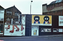 (Chris Hester) Tags: 29 49p bradford adverts billboards robertsons golden shred marmalade gold label lager whitbread clarks shoes