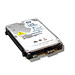 Top of HDD drive on white background