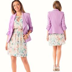 Blazer em tecido bistretch com punhos virados (comprar aqui: http://tinyurl.com/y3t954no); Vestido em chiffon fantasia com elásticos na cinta Disponível na loja de Vila Nova de Gaia e na loja online http://www.zumbi.pt/ #newcollection #fashion #trendy #tr (pauloneves866) Tags: dress trend lookbook womensstyle blog womenlook spring fashionstyle trendy newcollection zumbiurbanglamour fashionpost gifts fashionweek blazer moda look fashionable orange fashiondiaires zumbi purple fashionblogger springcollection fashion fashionaddict