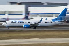 VQ-BWI Pobeda Boeing 737-8LJ(WL) (Nathan_Ivanov) Tags: airplane aircraft vko vnukovo uuww spotting boeing boeing737