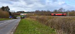 Cross Channel Freight (whosoever2) Tags: uk united kingdom gb great britain england nikon d7100 train railway railroad march 2019 dbcargo class66 66001 6o71 daventry dirft dollandsmoor channeltunnel a428 northamptonshire freight