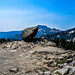 A view from the trail up Lassen Peak / California