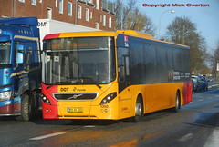 13 months old Volvo B8RLE ARRIVA 1350 route 8A (sms88aec) Tags: 13 months old volvo b8rle arriva 1350 route 8a