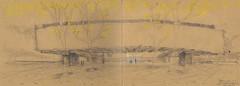 Pabellón del Conocimiento (90 bpm) Tags: sketch urbansketch urbanskecthers kraft paper croquis boceto lisboa lisbon portugal