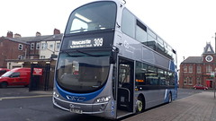 Go north east 6101 (Cameron's bus photos) Tags: nebuses wrightgemini2 nl63yje 6101 gonortheast