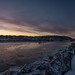 20180115-DSC_9244 (the Mack4) Tags: 2018 irondequoitbay january newyork panorama water webster clouds pier sunrise