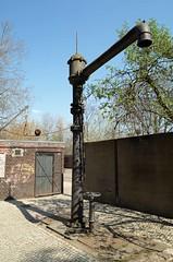 Berlin Südgelände 7.4.2019 Wasserkran (rieblinga) Tags: berlin steglitz südgelände wasserkran für dampfloks naturschutzgelände allianz versicherung 742019