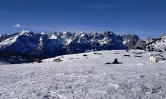 Malga Covelo - Italy (Biagio ( Ricordi )) Tags: montagna dolomiti neve italy inverno malga covelo molveno monteterlago paganella