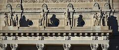 Westward Journey (jcdriftwood) Tags: shadows artwork indianapolis indiana indianapolisindiana hermancarlmueller indianastatehouse downtown limestone 18861887 1886 1887