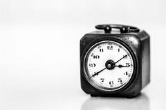Time goes by (fravo) Tags: 35mm analog monochrome bw blackwhite blackandwhite uhr wecker clock