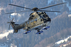 Aerospatiale AS332 Super Puma T-311 Swiss Air Force (Jarco Hage) Tags: meiringen air base force zwitserland swiss byjarcohage aviation mil militair military airfield afb northrop f5e tiger ii j3082