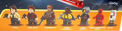 A closer look at the LEGO minifigures from the official box art (WhiteFang (Eurobricks)) Tags: lego star wars han solo story movie blockbuster spinoff gang outer rims tobias enfy nest high speed chase millennium falcon mf lando bet parsec crew ship corellian